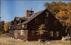 The Coach House at Longfellow's Wayside Inn Postcard