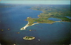 Aerial View of Sakonnet Point