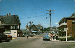 View of Main Street in Woods Hole