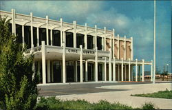 Multi-Purpose Civic Center Postcard