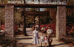 Norfolk Municipal Gardens - Entrance to Azalea Gardens