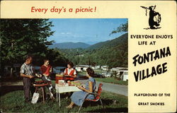 Every Day's a Picnic! Everyone Enjoyes Life at Fontana Village, Playground of the Great Smokies