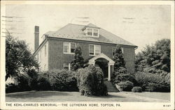 The Kehl-Charles Memorial The Lutheran Home