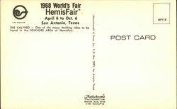 Folklore Area - The Calypso1 968 World's Fair Hemisfair