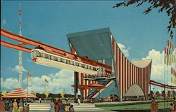The AMF Monorail, New York World's Fair