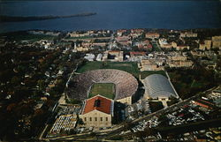 Air View of University of Wisconsin