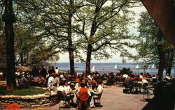 The Wisconsin Union at University of Wisconsin - Dining Terrace overlooking Lake Mendota