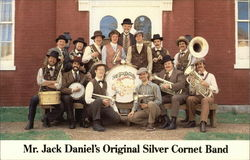 Mr. Jack Daniel's Original Silver Coronet Band