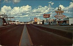 US Highway 66 Looking East Postcard