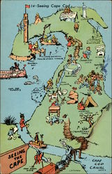Pictorial Map of Cape Cod