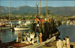 Christmas Pageant, Santa Barbara Harbor
