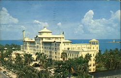 British Colonial Hotel Postcard
