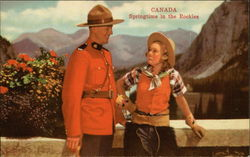 Canada, Springtime in the Rockies RCMP