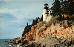 Bass Harbor Head Light on Mt. Desert Island