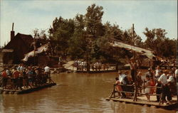 Raft to Tom Sawyer Island, Disneyland