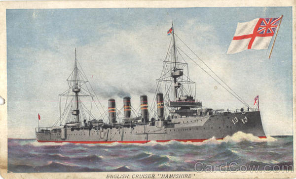 English Cruiser Hampshire Boats, Ships