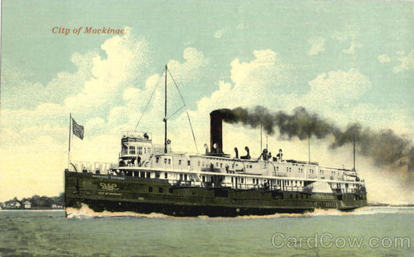 City Of Mackinac Steamers