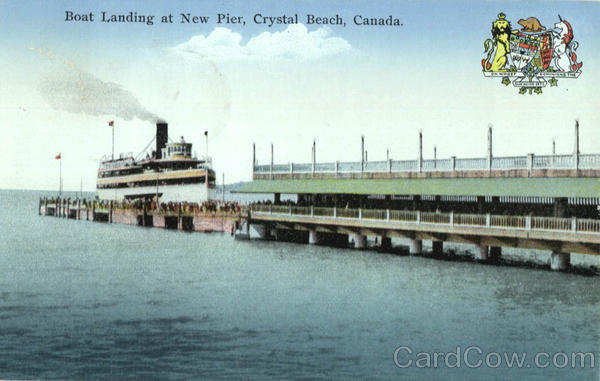 Boat Landing At New Pier Crystal Beach Ontario Canada