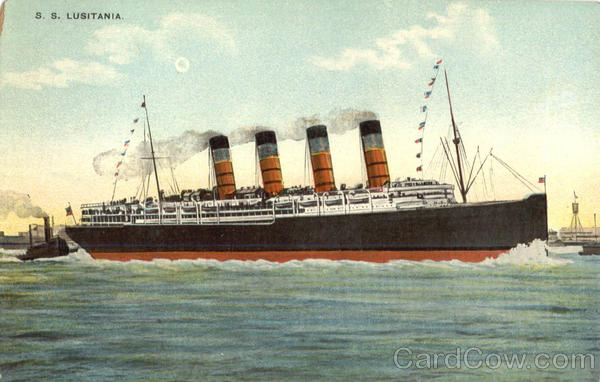 S. S. Lusitania Boats, Ships