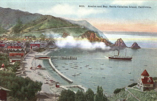 Avalon And Bay Santa Catalina Island California Boats, Ships