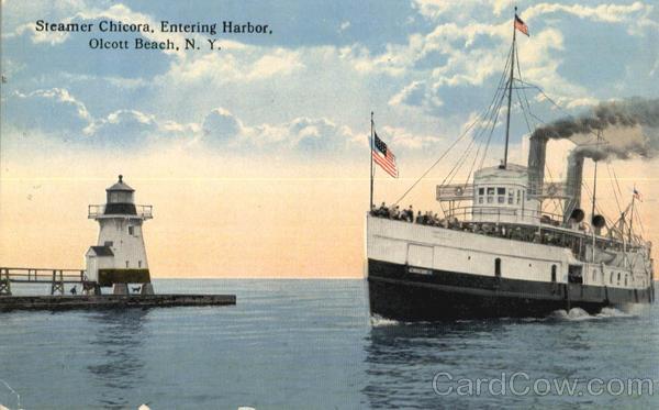 Steamer Chicora Olcott Beach New York