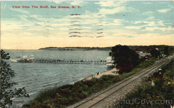 View From The Bluff Sea Breeze New York Boats, Ships