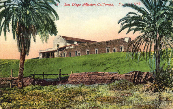 San Diego Mission Missions California