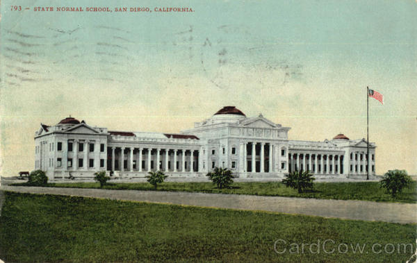 State Normal School San Diego California