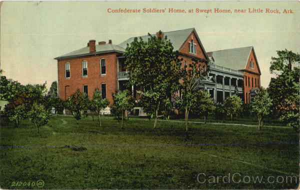 Confederate Soldiers Home, Sweet Home Little Rock Arkansas