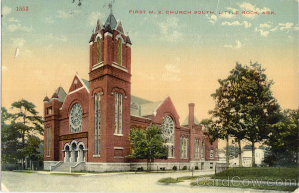 First M. E. Church South Little Rock Arkansas