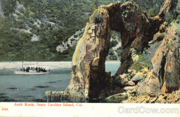 Arch Rock Santa Catalina Island California