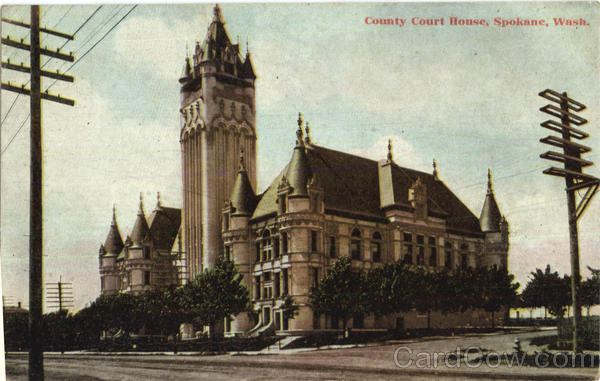 County Court House Spokane Washington