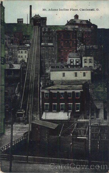 Mt. Adams Incline Plane Cincinnati Ohio