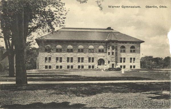 Warner Gymnasium Oberlin Ohio