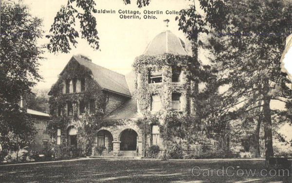 Baldwin Cottage, Oberlin College Ohio