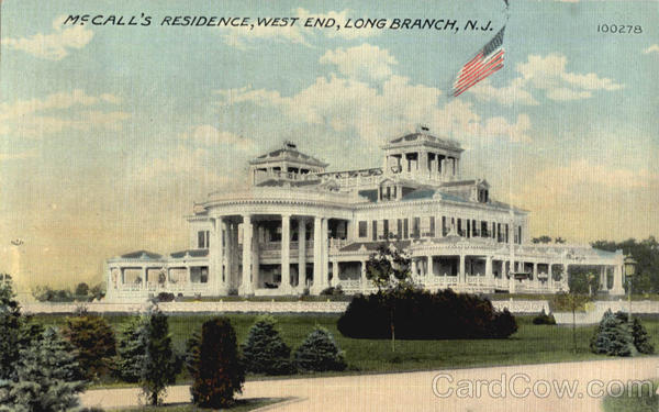 Mccall's Residence West End Long Branch New Jersey