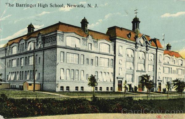 Language In 45 And 47 Stella Street: The Barringer High School Newark, NJ