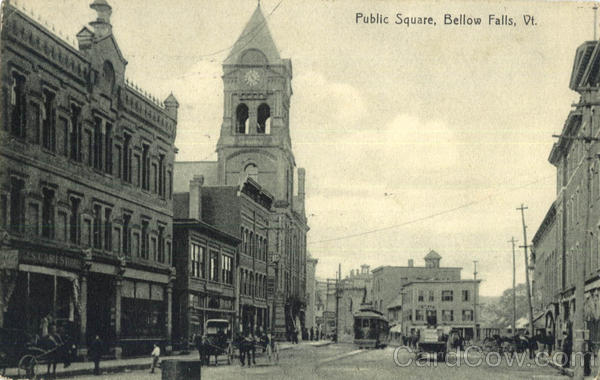 Public Square Bellows Falls Vermont