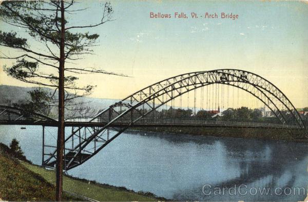 Arch Bridge Bellows Falls Vt