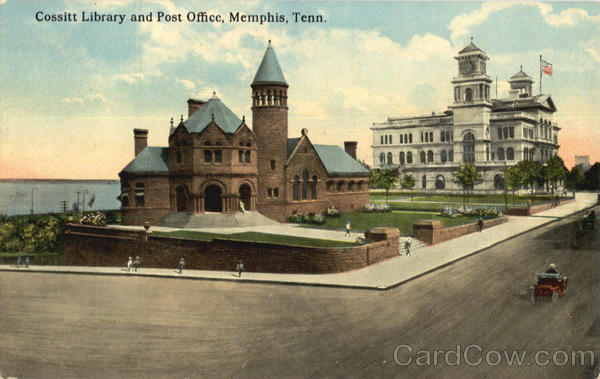 Cossitt Library And Post Office Memphis Tennessee