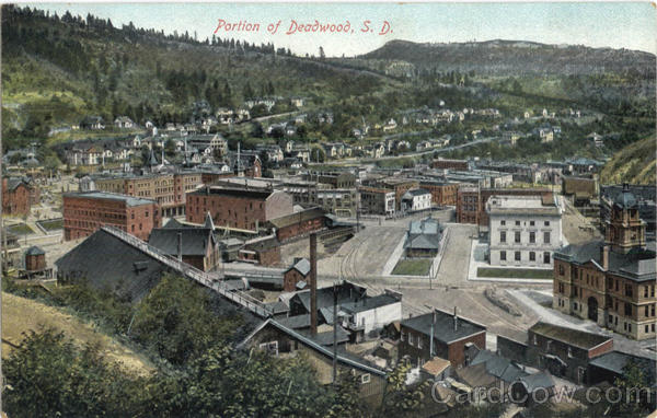 Portion Of Deadwood South Dakota