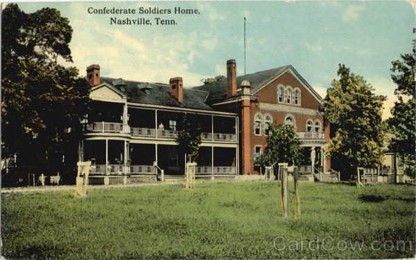 Confederate Soldiers Home Nashville Tennessee