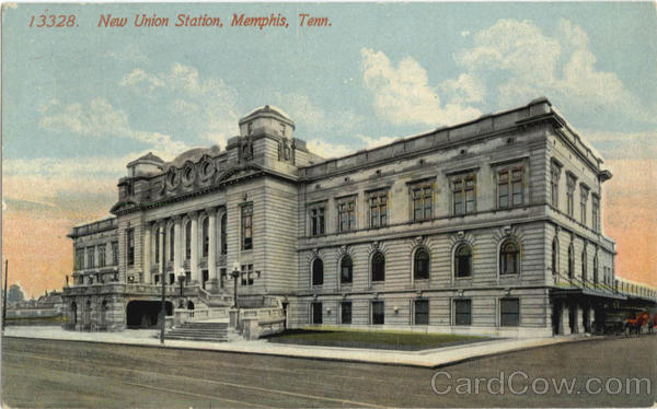 New Union Station Memphis Tennessee