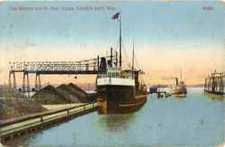 The Harbor And St. Paul Docks