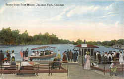 Scene From Boat House, Jackson Park