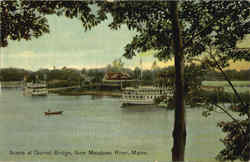Scene At Gurnet Bridge