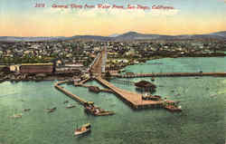 General View From Water Front Postcard