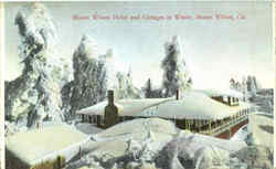 Mount Wilson Hotel And Cottages In Winter