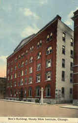 Men's Building, Moody Bible Institute Postcard