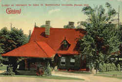 Lodge At Entrance To John D. Rockefeller Grounds, Forest Hill